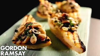 Cannellini Bean Crostini With Anchovy & Olives | Gordon Ramsay