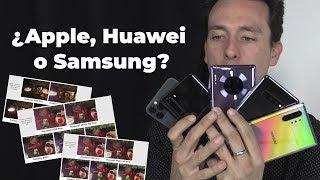 La mejor cámara en Modo Nocturno: ¿Huawei, Samsung o Apple?