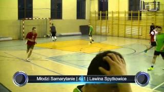 preview picture of video 'Młodzi Samarytanie - Lawina Spytkowice | Podhalańska Liga Futsalu | 28.12.2013'