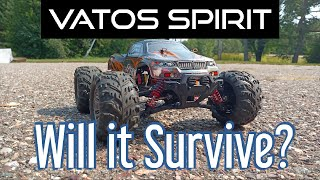 Vatos Spirit Unboxing, Speed Test and Thrashing, Will it Survive?