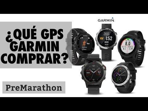 ¿Qué reloj gps garmin comprar? Forerunner, Vivoactive o Fenix.