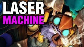 LASER MACHINE - Ah Jit Plays Tinker - Dota 2