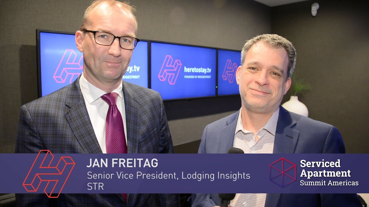 SAS Americas interviews: Jan Freitag of STR on extended stay supply and demand