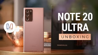 Samsung Galaxy Note20 Ultra Unboxing, Hands-on & Camera Test!