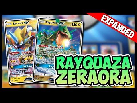 Turbo Rayquaza GX / Zeraora GX – Expanded Pokemon TCG Online Gameplay