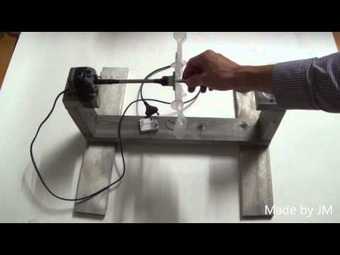 How to make a mini hydroelectric power generator