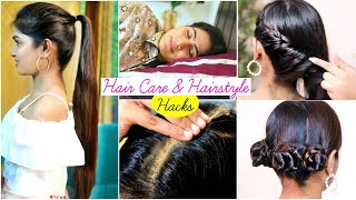 6 HAIR CARE & HAIRSTYLE Hacks You Must Know
