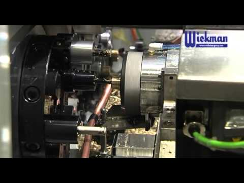 Push-type water fitting - Wickman ACW 6-44 CNC (14+2 axis)