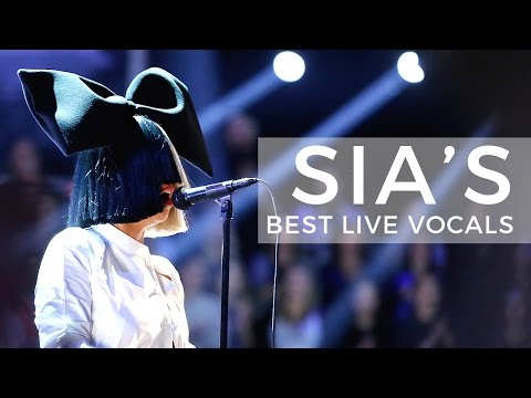 Sia's Best Live Vocals Mp3