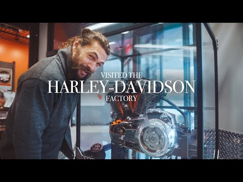 I visited the Harley-Davidson factory last week!