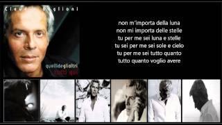 CLAUDIO BAGLIONI - Senza fine