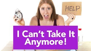 View the video I Can't Take it Anymore – How to Cope With Stress from Your Job