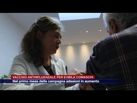 Etg - Campagna contro l'influenza, quasi 61mila comaschi si sono già vaccinati