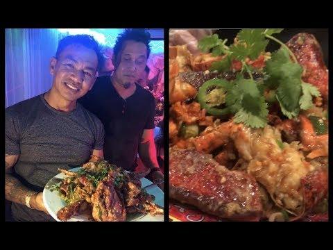 ភោជនីដ្ឋានខ្មែរនៅក្នុង Long Beach      Khmer Restaurant in Long Beach California
