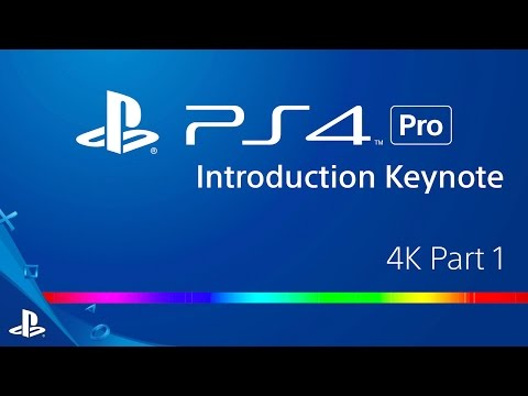 PlayStation 4 Pro Announcement - 4K Part 1 | PS4 Pro