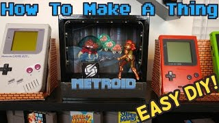 Game Room Ideas   Nintendo Diorama