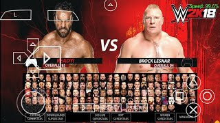 [75MB]  HOW DOWNLOAD WWE 2K18 FOR PSP