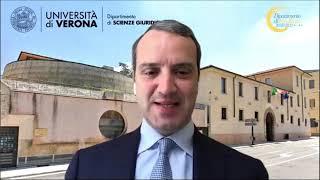 Anteprima video Parte I) La giustizia del futuro: le ADR nel piano di ripresa e resilienza - Saluti dott. Felicini, Prof. Troiano, Avv. Bissoli