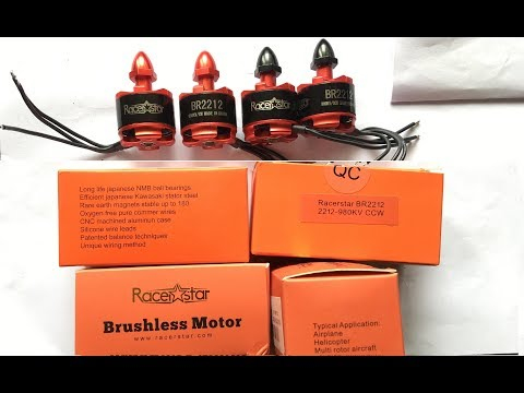 Racerstar Racing Edition BR2212 980KV Brushless Motor Unboxing.