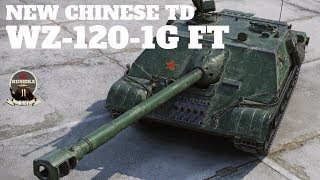 WZ-120-1G FT The New Chinese TD World of Tanks Blitz