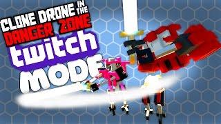 Clone Drone Twitch Mode #1 - SPIDERTRON MAYHEM!