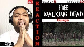 "The Walking Dead 9x10 ""Omega"" REACTION"