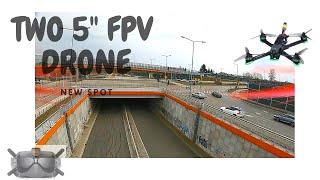 """FPV new spot to flight - 2 FPV 5"""""""