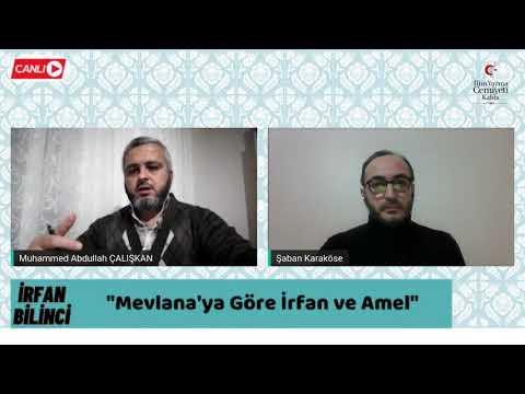 İRFAN BİLİNCİ / MEVLANA'YA GÖRE İRFAN VE AMEL