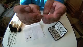 Как правильно привязать мормышку лесотка