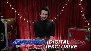 Colin Cloud, The Real Life Sherlock Holmes, Recalls His Performance - America's Got Talent 2017