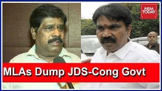 2 Independent MLAs Withdraw Support For JDS-Congress Govt In Karnataka