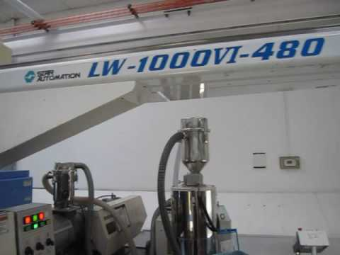 88 Ton Nissei Injection Molding Machine, Mdl # FN1000-12A