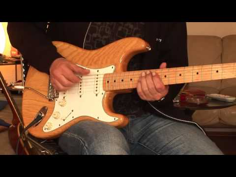 Fender Stratocaster, Classic 70 Strat plus 1984 Kitty Hawk Junior Amp