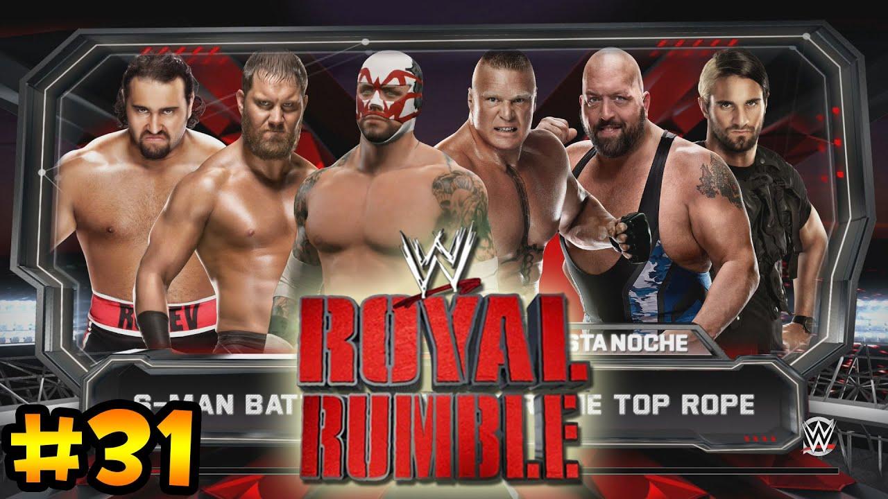 Ver WWE 2K15 -El Debut en RAW  y el 619 – La dura Clasificación a Royal Rumble en Español Online