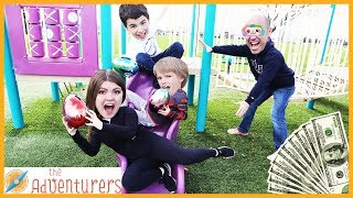 Groundies Temptations   On The Playground  That YouTub3 Family | The Adventurers