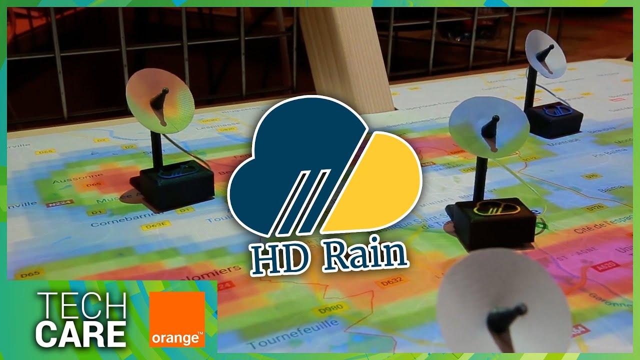 Tech Care avec Orange : Ruben Hallali, fondateur de HD Rain
