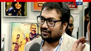 Star cast of 'Gangs of Wasseypur' arrive at ABP News newsroom Part-2