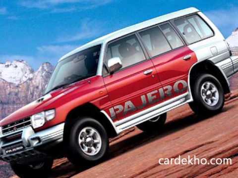 Mitsubishi Pajero undisguised