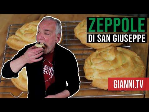 Video Zeppole di San Giuseppe, Italian Recipe - Gianni's North Beach