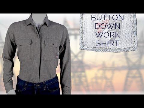 Versa Button Down Shirt M15MT