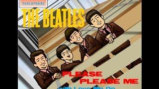 Please Please Me - The Beatles Full Album Cover Compilation