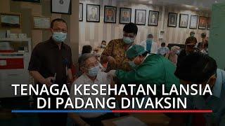 70 Persen Nakes di Kota Padang Sudah Divaksinasi, Vaksinasi Lanjutan Sesuai Anjuran Pusat