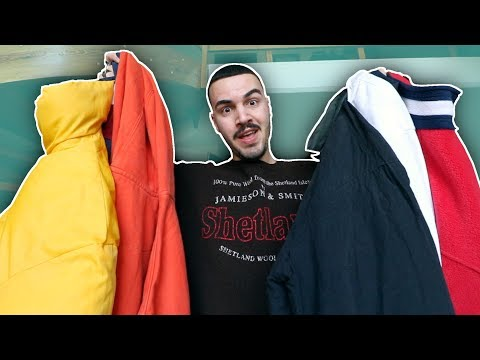XXL VINTAGE FASHION UNBOXING (TOMMY HILFIGER, HELLY HANSEN)