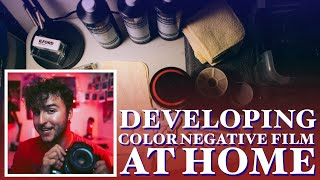 how to develop color negative (C41) film at home 🎞️