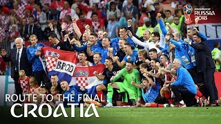 CROATIA - Route To The Final!