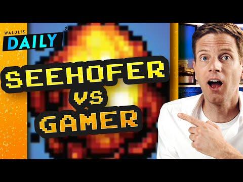 Seehofer vs. Gamer: Die aktuelle Fail-Debatte    WALULIS DAILY