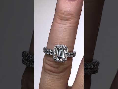 enr184-em w/Matching Diamond Band
