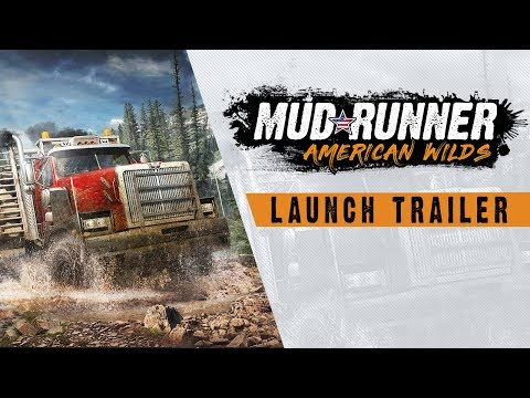 Spintires: MudRunner American Wilds - Launch Trailer thumbnail