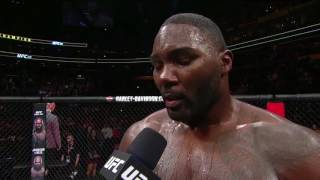 UFC 210: Anthony Johnson Announces His Retirement
