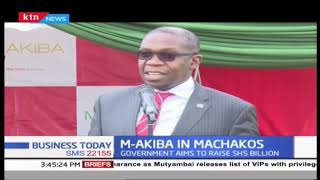 M-Akiba bond launches in Machakos County | Business Today